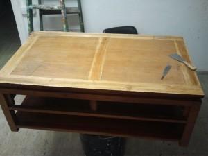 Como restaurar una mesa? Entre aqui para ver el proceso