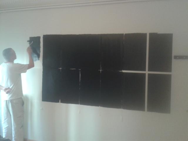 Pintura pizarra ideal para oficinas y habitaci n de ni os for Cuarto color pintura pizarra
